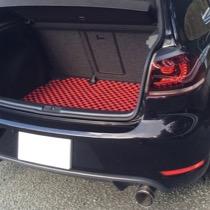 VW VWゴルフ6 GTI SISAL シルバー/ブラック レッド/ブラック