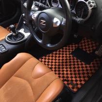 ニッサン ニッサン フェアレディZ Z34 SISAL オレンジ/ブラック