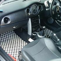 BMW BMW Mini R53 SISAL ホワイト/ブラック
