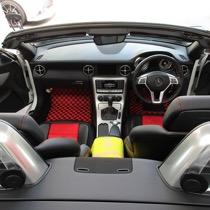 M-BENZ メルセデスベンツ SLK200スポーツ SISAL レッド/ブラック