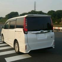 トヨタ トヨタ   ノアハイブリッド SISAL レッド/ブラック