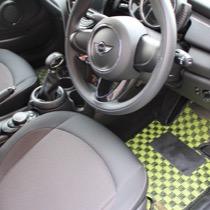 BMW MINICOOPER F56 SISAL ライム/ブラック