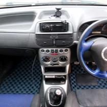 FIAT FIAT PUNTO HGT ABARTH SISAL ネイビー/ブラック
