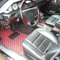 M-BENZ メルセデスベンツE500 SISAL レッド/ブラック