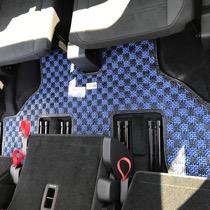VW VOLKSWAGEN ゴルフトゥーラン SISAL ブルー/ブラック