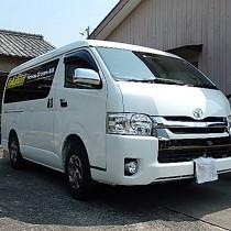 KARO装着事例 QUEST トヨタ ハイエース