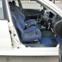 ミツビシ 三菱・ランサーGSRエヴォリューション6 FLAXY ブリリアントブルー
