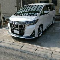 トヨタ アルファード SISAL オレンジ/ブラック