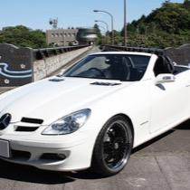 M-BENZ メルセデス・ベンツ SLK (R171) SISAL ホワイト/ブラック