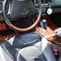 M-BENZ メルセデスベンツ 560SL SISAL オレンジ/ブラック